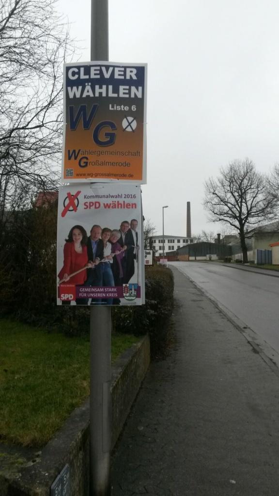 WG SPD Plakat